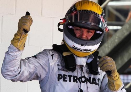 ニコ・ロズベルグ5度目の表彰台