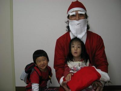 サンタさんが来た
