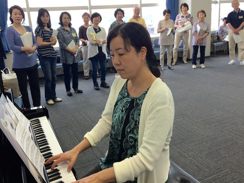20170609調布市民カレッジ金曜クラスピアニストと