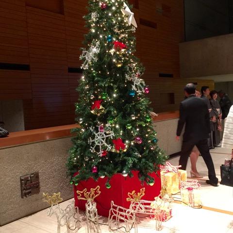 オペラパレスクリスマスツリー
