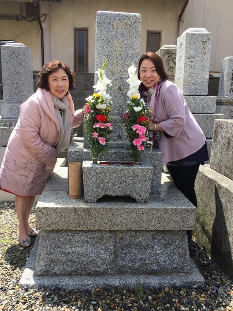 2017桂先生のお墓参り1