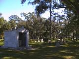 ブラウンさんの墓地と公園