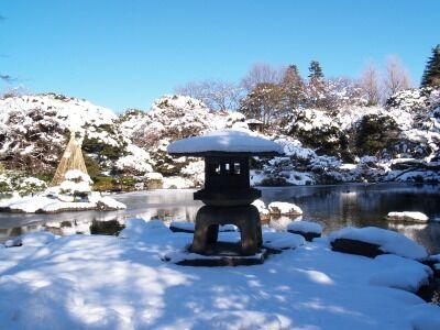 281:雪見灯籠