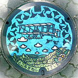 160px-Manhole_cover_Tokorozawa_colored