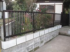 2009 I様 フェンス&門扉 取り付け工事 7