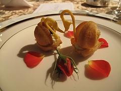 2009.12.13 圭 結婚披露宴 食事 3