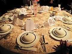 2009.12.13 圭 結婚披露宴 食事 2
