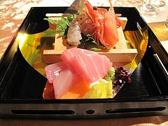 2009.12.13 圭 結婚披露宴 食事 4