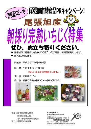 4特産品チラシ(いちじく)
