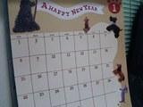 2006カレンダー1月