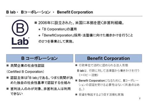 Bコーポレーションを知る会_水谷