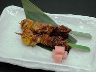 ちょうちん串(きんかん・もも・肝)2