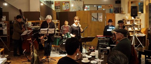 松尾町ジャズコーナー20171028-1