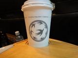 76車内販売のコーヒー