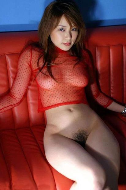 【ランジェリー】スケスケシースルーの下着姿のエロ動画像 (2)