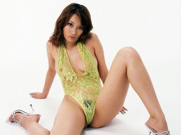 【ランジェリー】スケスケシースルーの下着姿のエロ動画像 (3)