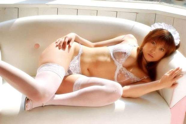 【ランジェリー】スケスケシースルーの下着姿のエロ動画像 (15)