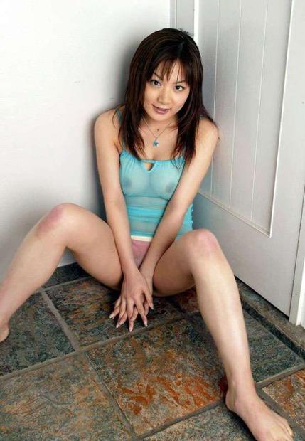 【ランジェリー】スケスケシースルーの下着姿のエロ動画像 (22)
