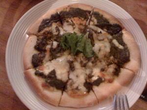 ベジタリアンカレーピザ