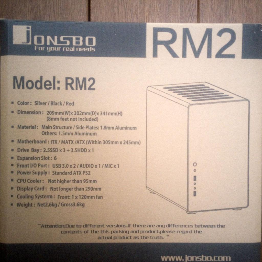 JONSBO RM2 箱1