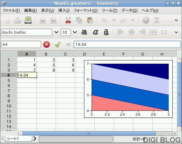Lubuntu 10.04 - Gnumeric