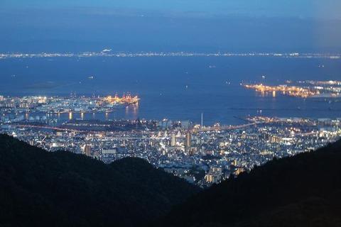六甲山から夜景