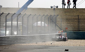 セバスチャン・ブエミ、F1中国GPフリー走行