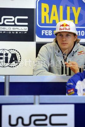 キミ・ライコネン、WRC ラリースウェーデン