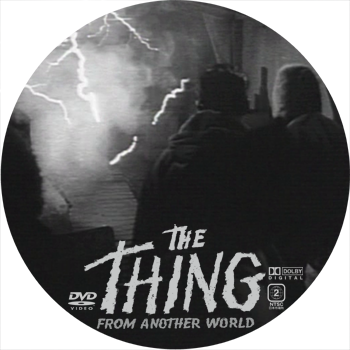 the_thing DVD レーベル