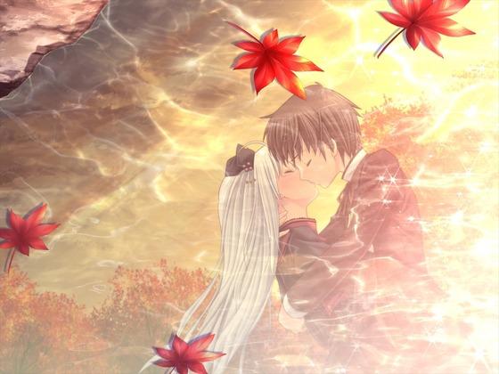 男女がキスしてる二次画像が欲しいんです29
