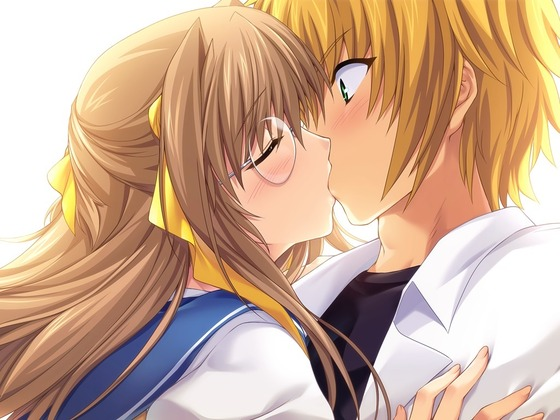 男女がキスしてる二次画像が欲しいんです27