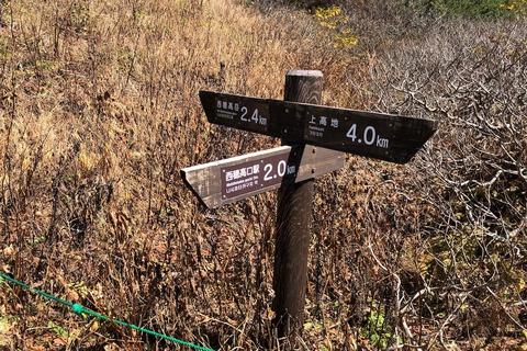 紅葉を求めて (4) 西穂 丸山