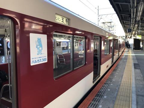 近鉄電車に乗ってお出かけ!