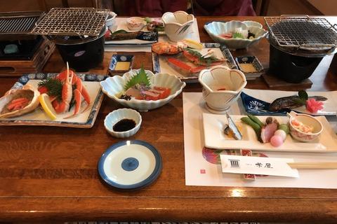記念旅行 岡山へ (5) 夕食です