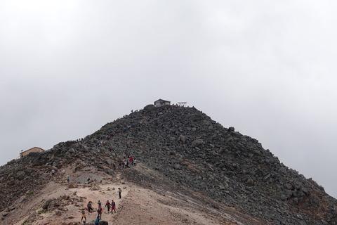 リベンジの旅 (13) 剣ヶ峰山頂