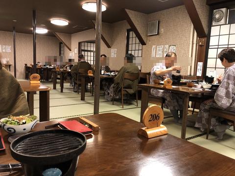 2度目の奥飛騨旅行 (9) 初日の夕食