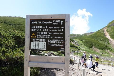 リベンジの旅 (11) 剣ヶ峰