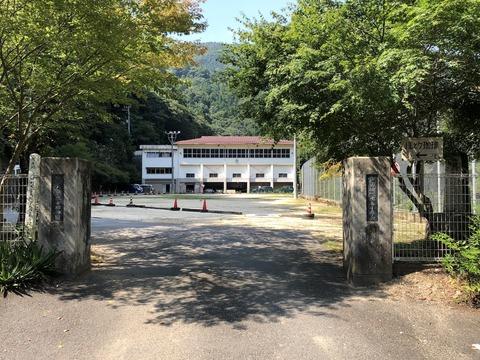 癒しを求めて徳島へ (4) 廃校を利用したカフェ