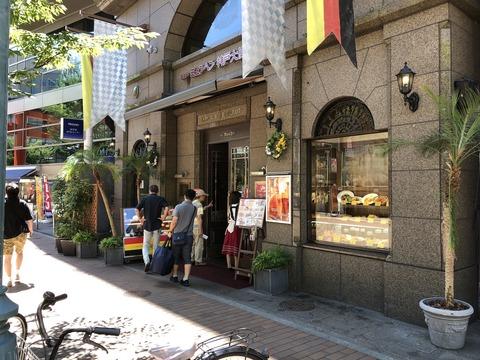 ミュンヘン神戸大使館でビール!