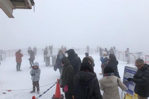 冬の奥飛騨 (10) 新穂高ロープウェイ2