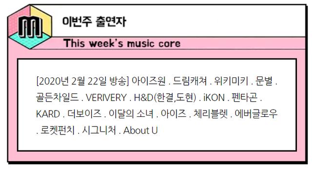 music core-a 200220