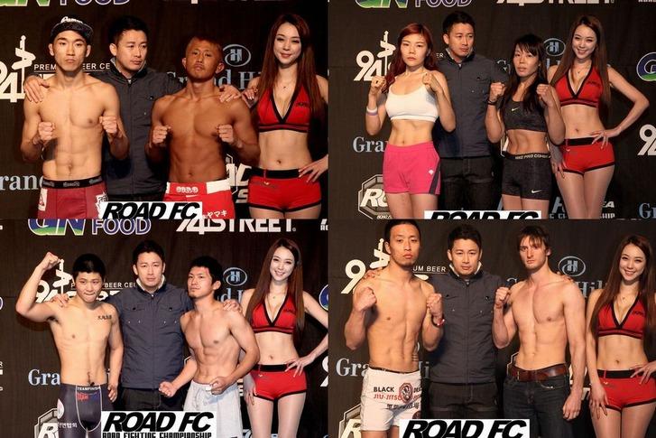 RFC Korea02 Weigh in