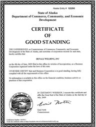 certificate of good standingって何 アメリカスタートアップ起業