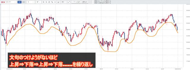 2019年の加ドル/円