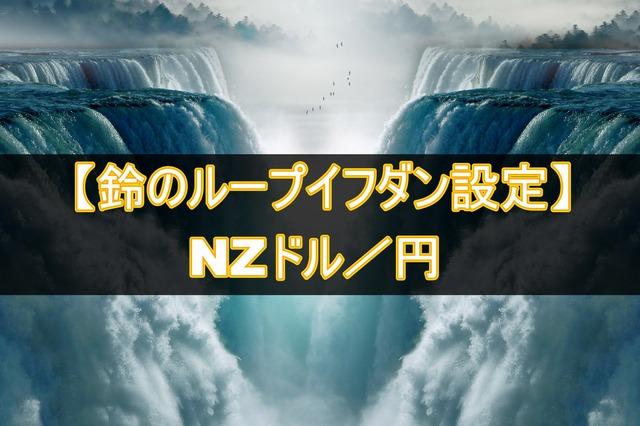 NZドル/円のループイフダン設定と運用実績