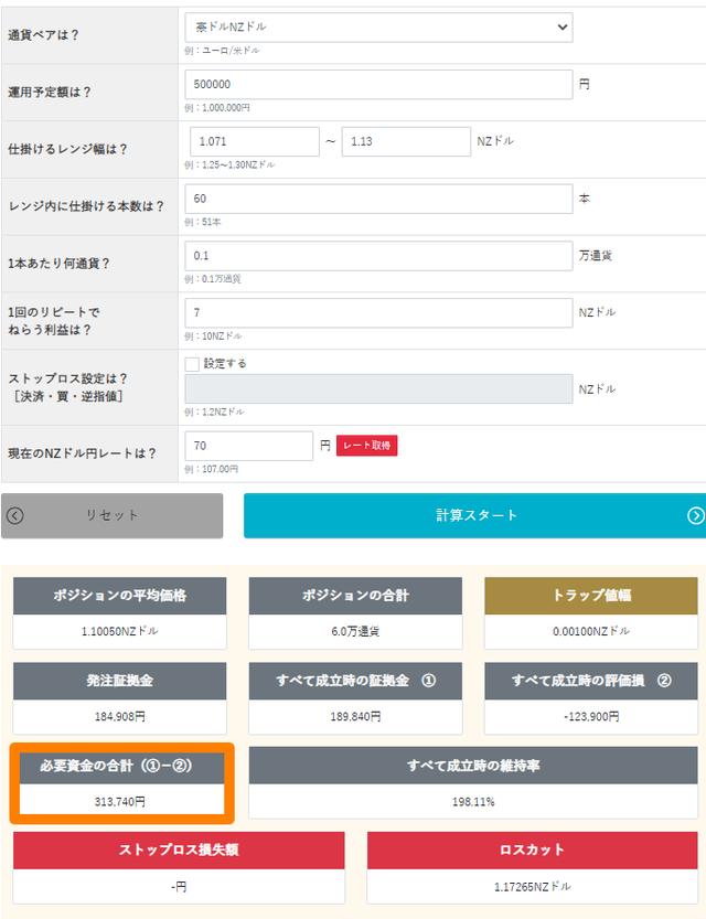 オージーキウイ-トラリピ運用試算表-ハイリスク版