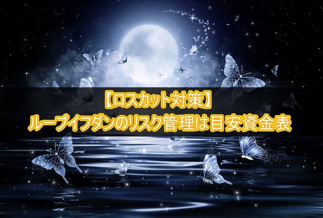 【ロスカット対策】ループイフダンのリスク管理