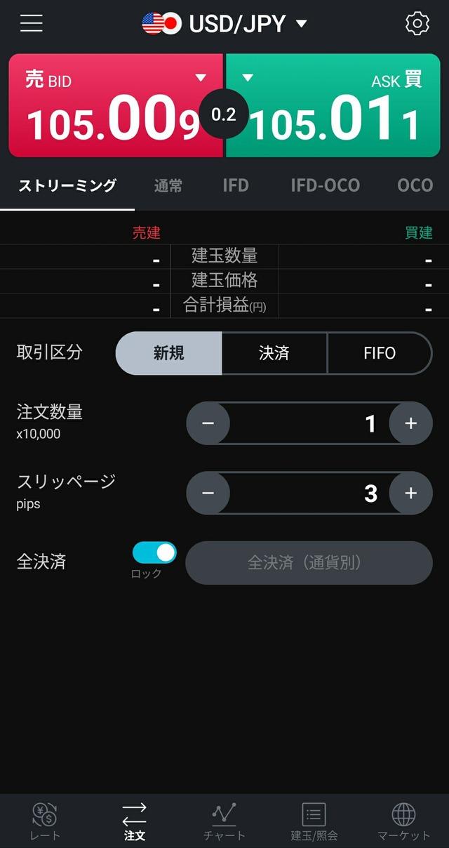 LINE FX(ラインFX)キャンペーン-画面③