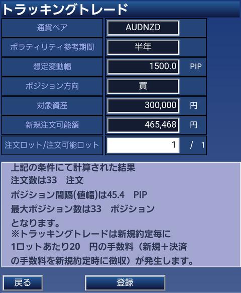 鈴のトラッキングトレード設定と運用実績-③豪ドルNZドル