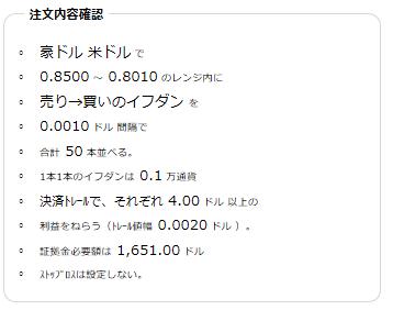 豪ドル米ドル売り080~0.85